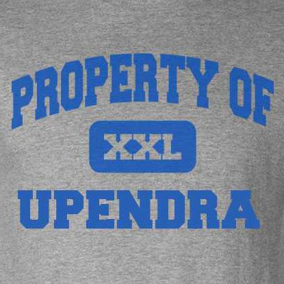 Birthday T Shirt Upendra Gift Happy Bday Upendra Tee